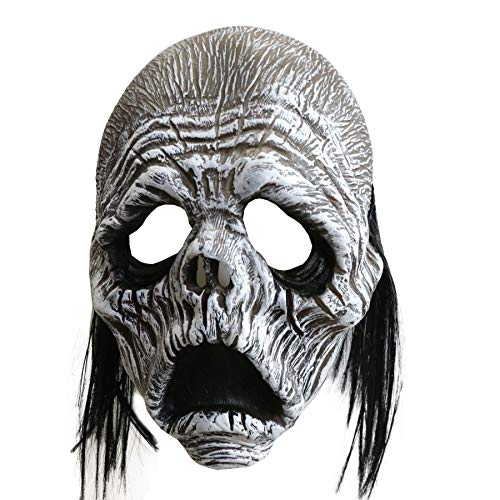 LarpGears Novelty Halloween Costume Party Sary Ghost Monster Mask for Halloween -