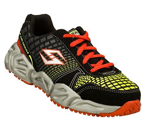 Skechers Air-Mazing Kid Aero Flex Printz Boys Sneakers Bl...