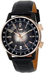 Vostok-Europe Men's 2426/5603061 Gaz-14 Limo Automatic Black Dial Watch
