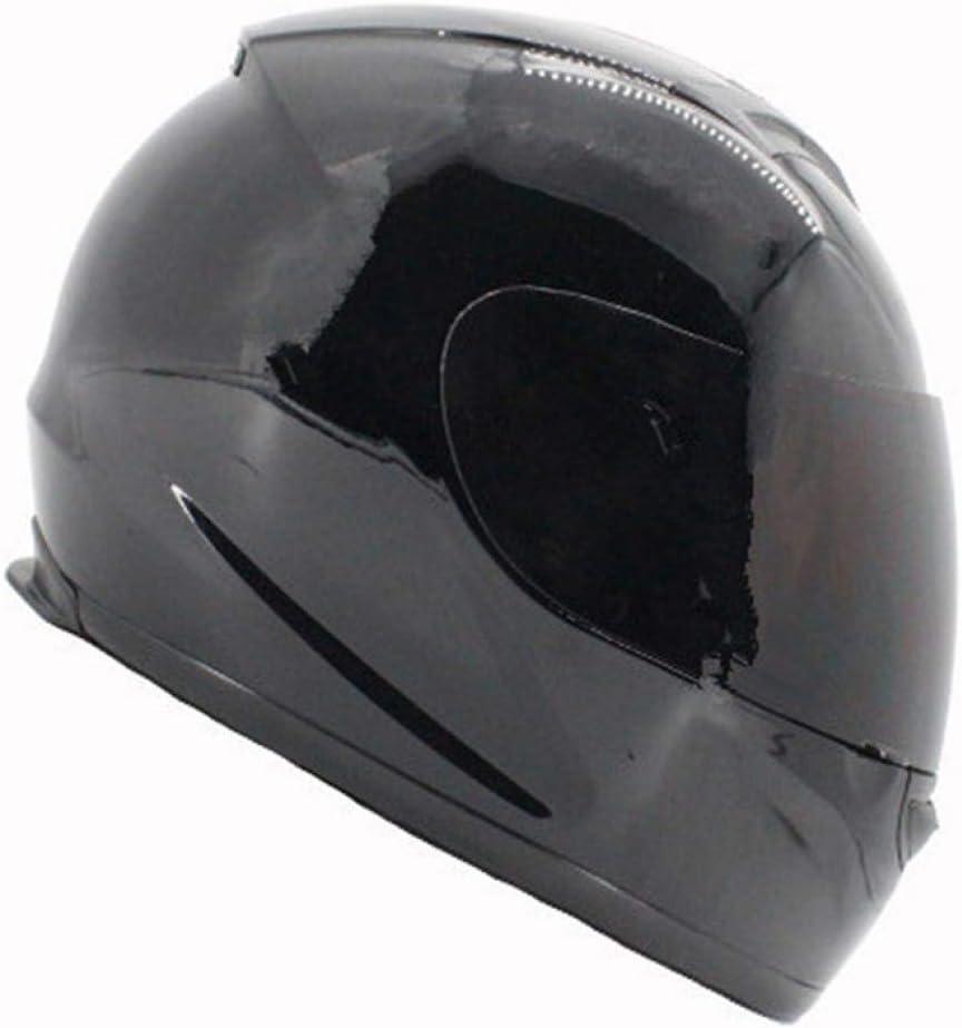 OLEEKA El casco seguro para motocicletas de rostro completo tiene muchos colores, lentes oscuros para hombres o mujeres