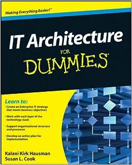 Susan L. Cook - It Architecture For Dummies