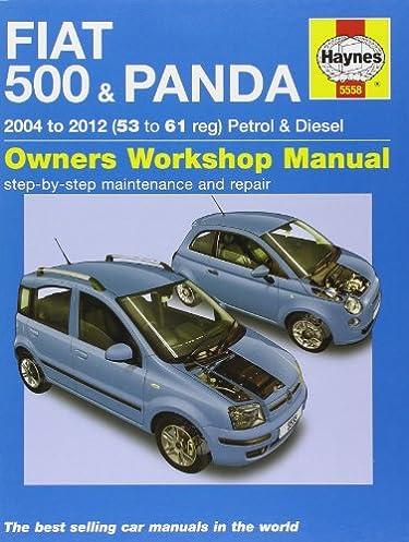 fiat 500 panda 04 12 53 to 61 haynes service and repair rh amazon com Fiat Panda Coming to USA Fiat Automobiles