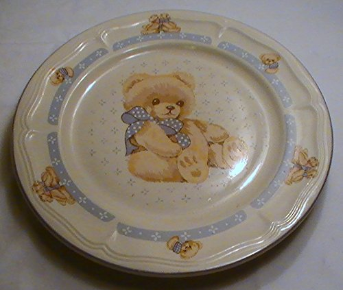 "Tienshan Country Bear 10 1/2"" Dinner Plate - One (1) Plate"