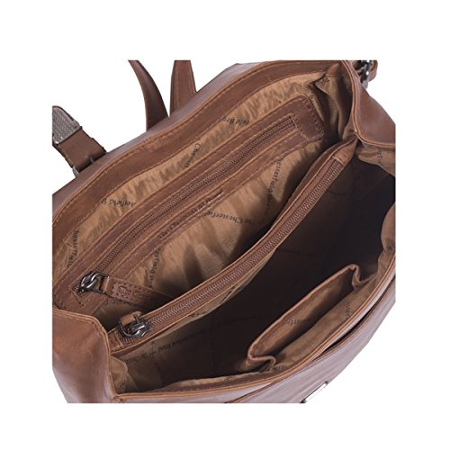 à Chesterfield Brand Dos Isa Sac City 30 Cognac cm Cuir The qZRgTaww