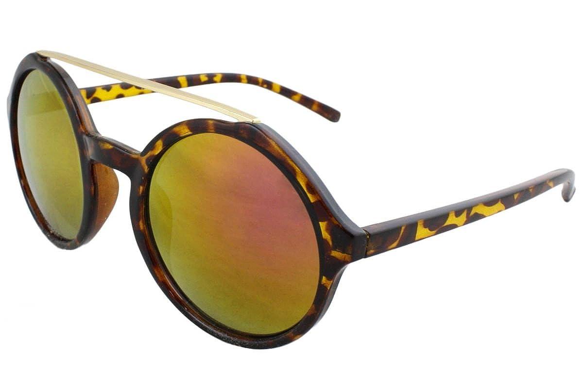 Sonia Originelli Sonnenbrille Verspiegelt Leo Muster Sommer Damen Neu