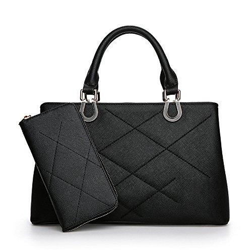 Lady'S Nueva Moda Handbag Black Negro GWQGZ dOwEqP8d