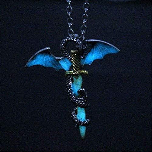 DUANMEINAD Necklace Luminous Titanium Necklaces product image