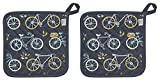 Now Designs 505899aa Potholders, Set of Two, Sweet Ride, 2 Piece