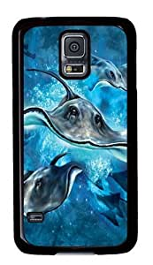 Samsung Galaxy S5 Case,Stingrays PC case Cover for Samsung S5 and Samsung Galaxy S5 Black