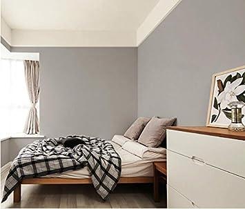 Yuela Reine Farbe Seidentapeten Selbstklebende Schlafzimmer In