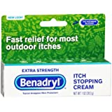 Benadryl Itch Stopping Cream, Extra Strength-1oz