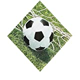 Bargain World Sports Fanatic Soccer Luncheon Napkins (With Sticky Notes)
