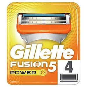 Gillette Fusion Lot de 4 lames de rechange pour homme