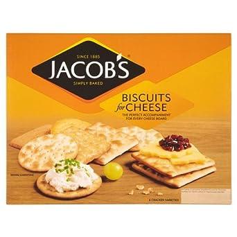 Jakobs Kekse für Käse 250g (Packung mit 10 x 250g)