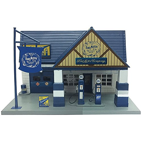 Ford Motor Company 1940 Classic Service Station Gas Pump 1:32 Scale Model (Service Motor Company)