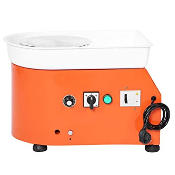 Máquina de Cerámica de la Rueda, Pottery Wheel de Metal y Aleación de Aluminio, 250W Herramientas de la Rueda para Alfarería(EU): Amazon.es: Hogar