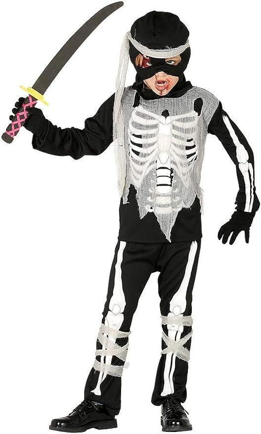 FIESTAS GUIRCA Niño Zombie Esqueleto Disfraz de Zombie para ...