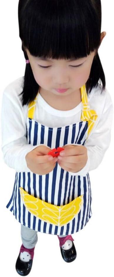 CRB 유아 어린 소녀 베이킹 베이크 웨어 귀여운 요리사 베이킹 탑 앞치마 포켓 (3T  4T 스타일  5)