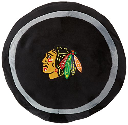 Officially Licensed NHL Chicago Blackhawks 3D Sports Pillow -