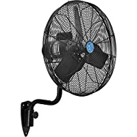 CD Premium 24 Oscillating Wall Mount Fan, TEFC Motor, 9,400 CFM, 1/2 HP