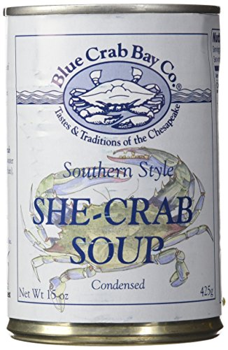 Blue Crab Bay Co. She Crab Soup, 15-Ounces (Pack of 6)