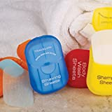 Travelon Shaving Toiletry Sheets, 50-Count