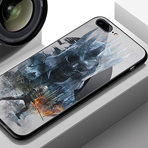 Fitted Cases - FinderCase for iPhone x case Witcher 3 Patterned Tempered Glass Hard Back Cover for iPhone 6 6S 7 Plus X XR XS MAX - by Aquaman Store - 1 PCs