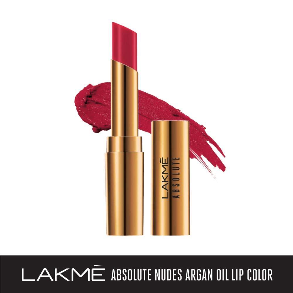 Lakme-Absolute-Argan-Oil-Lip-Color-Long-Lasting-Waterproof-Lipstick thumbnail 14