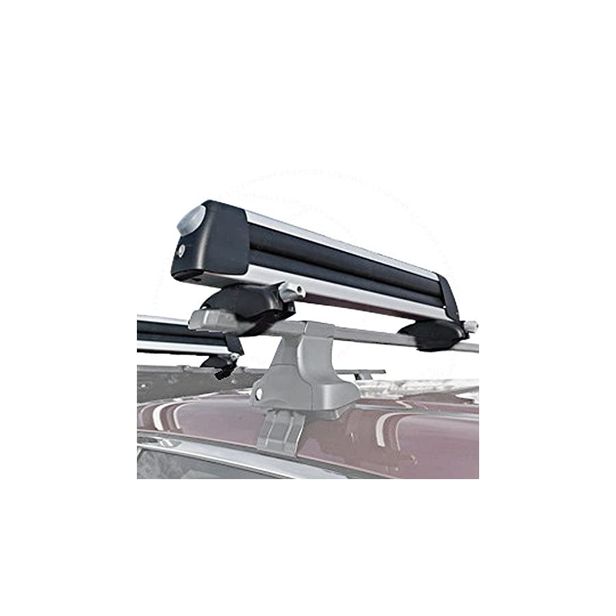 LT Sport SN#100000001024 233 for Saturn Vue 4 Snowboard /8 Ski Car Roof Rack Cross Bar Carrier