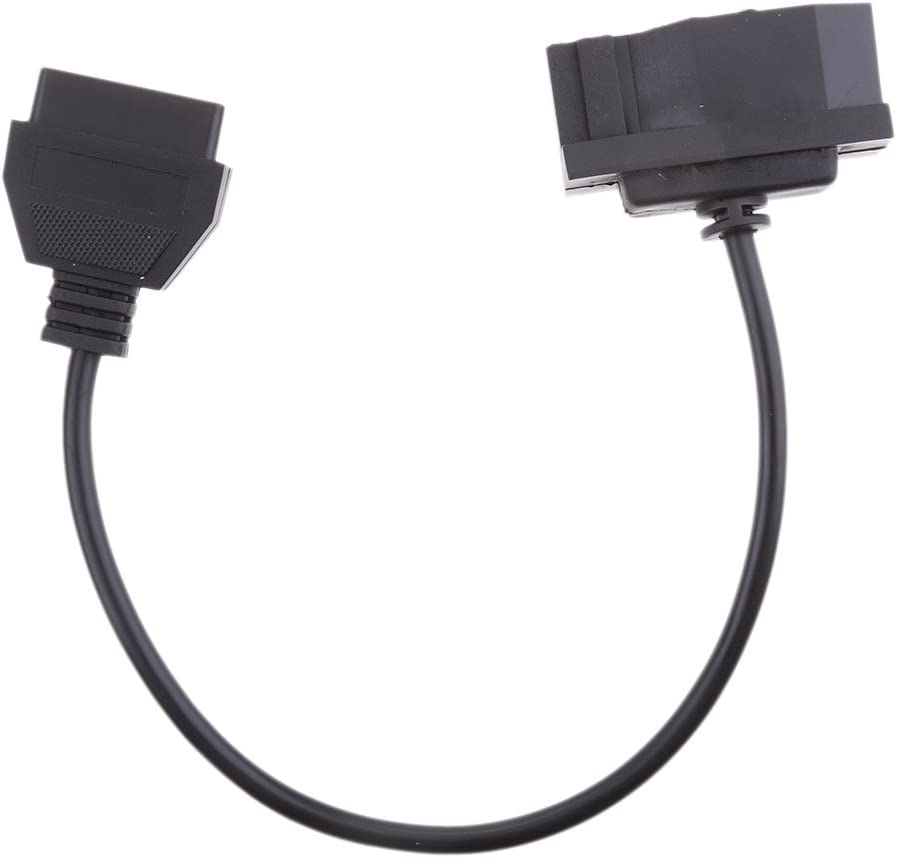 MagiDeal OBD1 7-Pin Male to OBD 2 OBD II 16-Pin Diagnostic Adapter Cable For FORD EFI