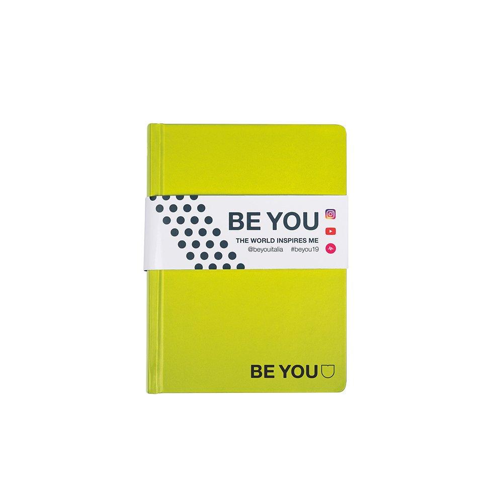 Be-U Color Diario Agenda, Formato Mini, Collezione 2018/19, Lime Giochi Preziosi BE993300
