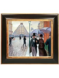 OverstockArt A Paris Street Rainy Day Framed Oil Reproduction Of An  Original Painting By Gustave Caillebotte Part 67