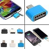 Micro OTG Micro USB Adapter(Multicolour)