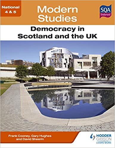 National 4 & 5 Modern Studies: Democracy in Scotland and the