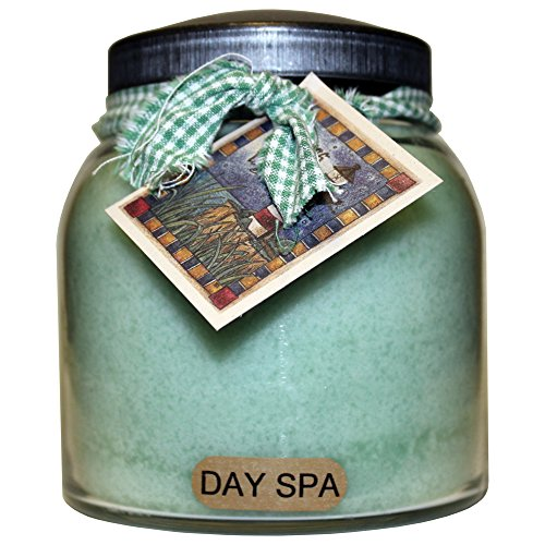 A Cheerful Giver Day Spa Papa Jar Candle, 34-Ounce