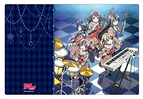 Bang Dream! Trading Anime Character Card Supply Game Rubber Play Mat Playmat by Bushiroad