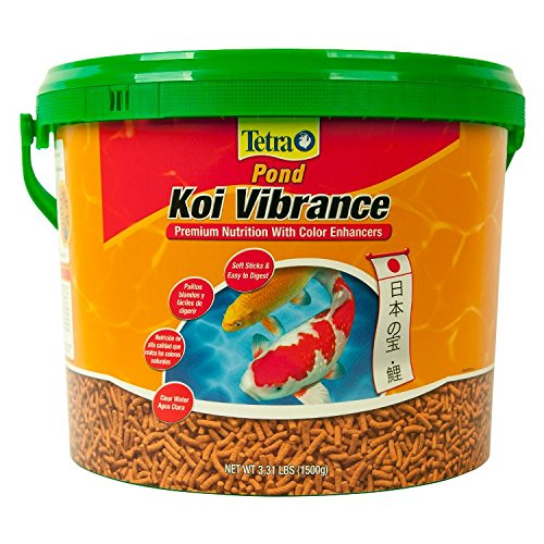 TetraPond Koi Vibrance Premium Nutrition with Color Enhancers