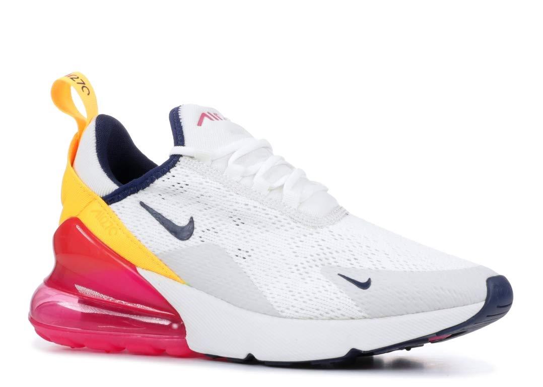 Nike Air Max 270 Women's Shoes Summit WhiteMidnight NavyLaser Fuchsia ah6789 106 (7.5 B(M) US)