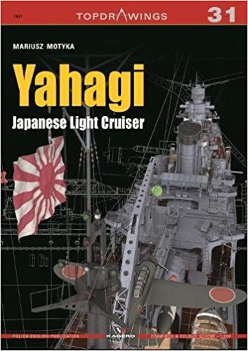Yahagi. Japanese Light Cruiser 1942-1945 (TopDrawings)