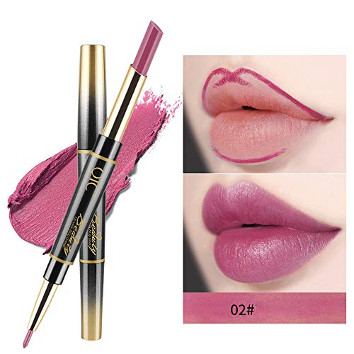 (Lowpricenice DaySeventh Double-end Lasting Lipliner Waterproof Lip Liner Stick Pencil 14 Color)