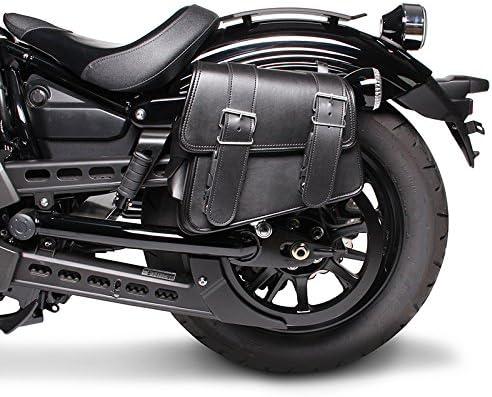 XL 883 R Indiana Noir Droit Sacoche Cavali/ère pour Harley Davidson Sportster 883 R Roadster