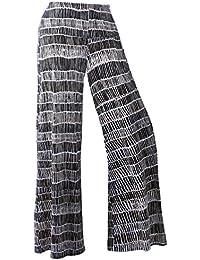 5e356b4ea91 Women s Stretchy Wide Leg Plus Size Palazzo Lounge Pants