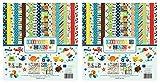 Echo Park Paper Company LM99016 Little Man Collection Kit (Twо Pаck)