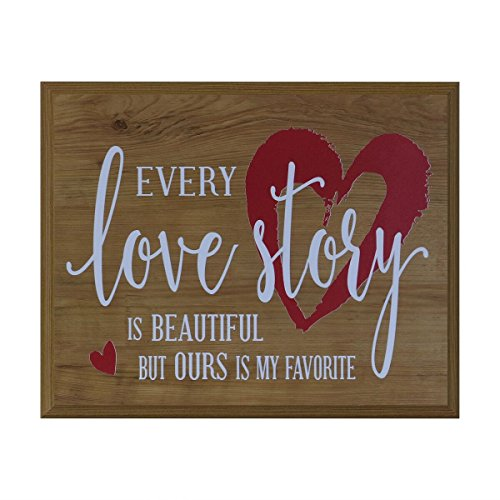 Every Love Story is Beautiful Gift for husband wife best friend wedding annivesary gift ideas 12