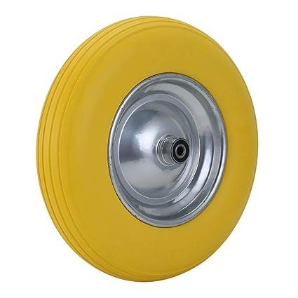 Amazon.com: Neumático plano de goma de 15.7 in para carrito ...