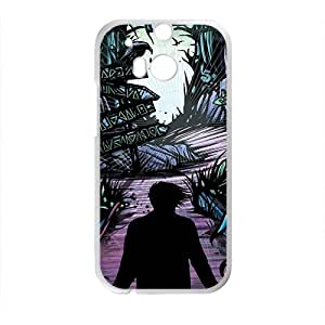 Personal Customization Black horrific man Cell Phone Case for HTC One M8