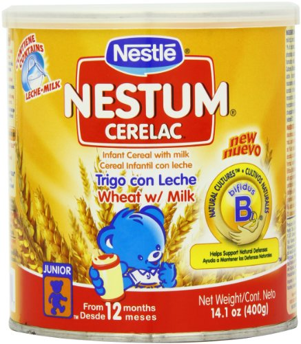 Nestle Cerealac Wheat with Milk Cereal, 400-Grams (Pack of 4)