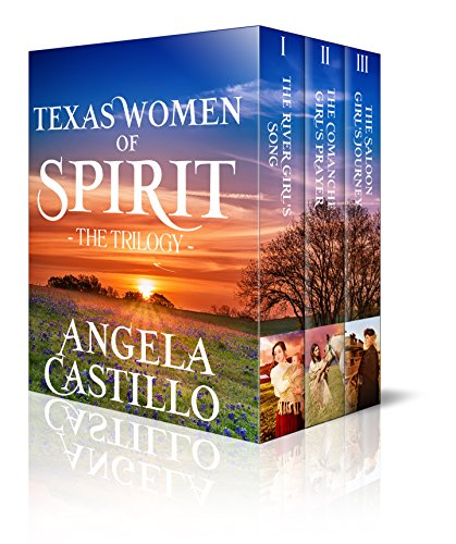 The Texas Women of Spirit Trilogy by [Castillo, Angela]