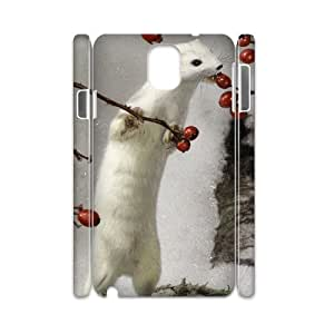 AKERCY Cute Weasel Phone 3D Case For Samsung Galaxy note 3 N9000 [Pattern-2]