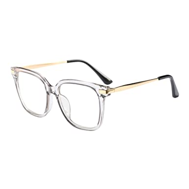 9fb103591d0 Meijunter Fashion Oversized Square Frame Ultralight Clear Lens Full Frame  Glasses Optical Eyeglasses UV400 Eyewear for